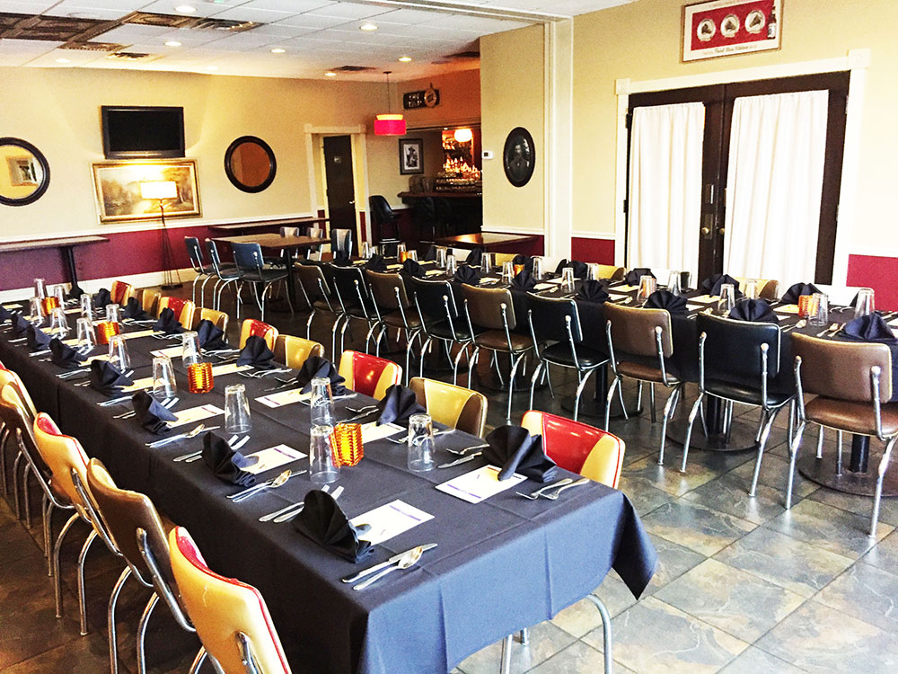 Vintage Brewing Company Full Banquet Room